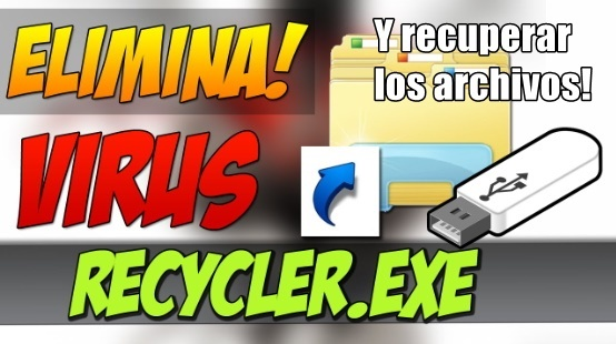 Recuperar ARCHIVOS OCULTOS por Virus Recycler