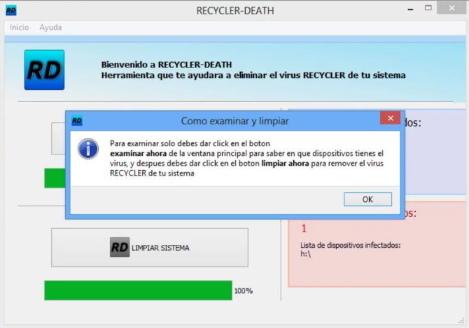 recuperar los archivos