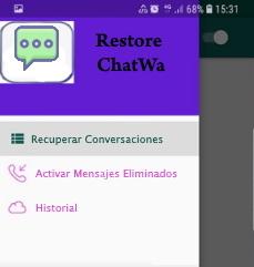 app restore chatwa